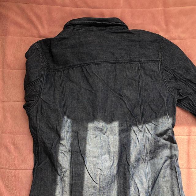 GU(ジーユー)のGU デニムワンピース レディースのワンピース(ひざ丈ワンピース)の商品写真