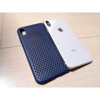 【中古良品】iPhone XS Max 香港版256GB シルバー SIMフリー(スマートフォン本体)