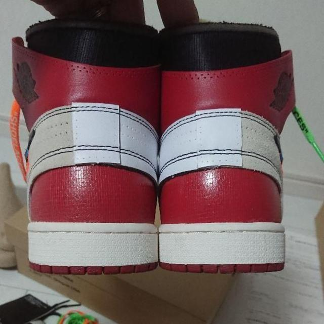 OFF-WHITE(オフホワイト)のOff-White NIKE Jordan ナイキ オフホワイト エアジョーダン メンズの靴/シューズ(スニーカー)の商品写真