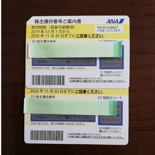 ANA 株主優待航空券【New】(航空券)