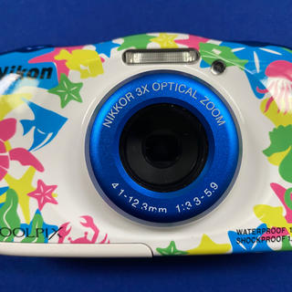 Nikon - ニコン クールピクスW100 人気のマリンタイプ