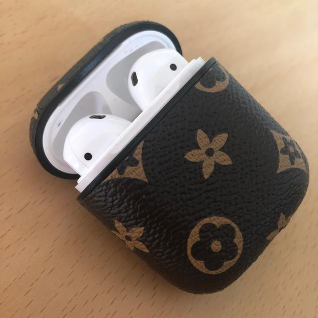 新品未使用のAirPodsカバー スマホ/家電/カメラのスマホアクセサリー(モバイルケース/カバー)の商品写真
