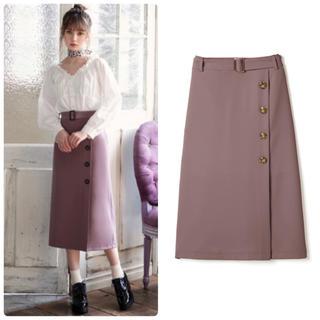 GRL - 新品♡グレイル ラップデザイン ナロースカート ベルト付き モカ トレンチ風♡