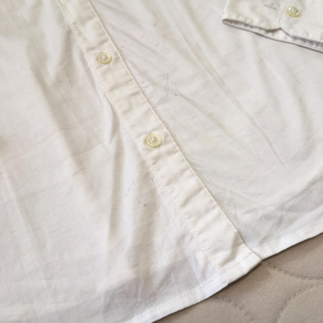GU(ジーユー)の就活シャツ レディースのトップス(シャツ/ブラウス(長袖/七分))の商品写真