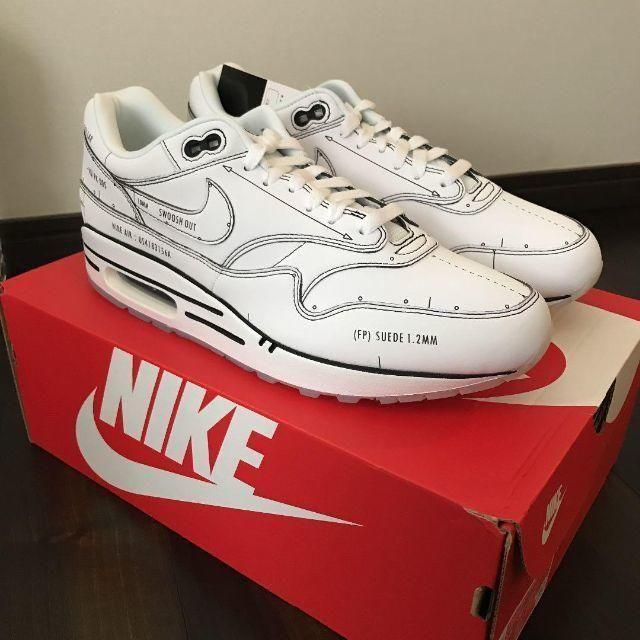 NIKE(ナイキ)のNike Air Max 1 SKETCH TO SHELF White メンズの靴/シューズ(スニーカー)の商品写真