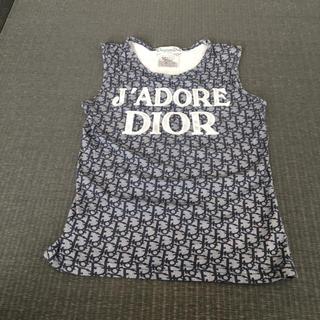 クリスチャンディオール(Christian Dior)のクリスチャンディオールのノースリーブ(Tシャツ/カットソー)