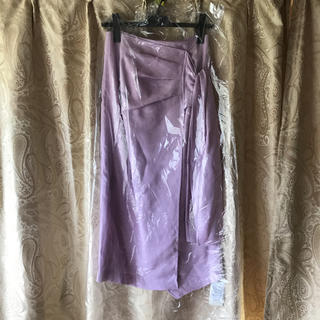 フレイアイディー(FRAY I.D)の♡完売商品♡新品未使用♡FRAY I.D♡ラップタイトスカート♡ピンク♡リボン(ロングスカート)