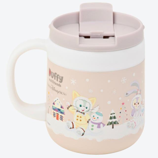 Disney(ディズニー)の新品ダッフィーフレンズ ステンレスマグ エンタメ/ホビーのおもちゃ/ぬいぐるみ(キャラクターグッズ)の商品写真