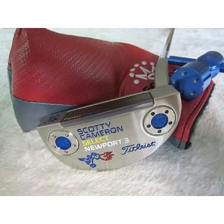 スコッティキャメロン(Scotty Cameron)のSCOTTY CAMERON SELECT NEWPORT3 ゴルフパター(クラブ)