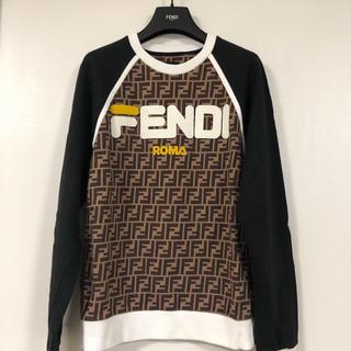 フェンディ(FENDI)のフェンディマニア FENDI×FILA トレーナー(トレーナー/スウェット)