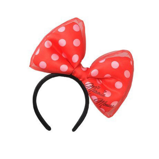 Disney(ディズニー)のミニー カチューシャ レディースのヘアアクセサリー(カチューシャ)の商品写真