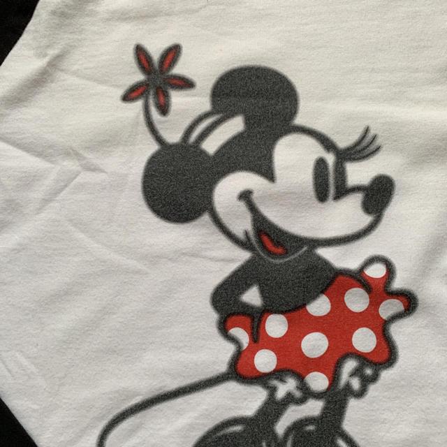 Disney(ディズニー)のミニー ラグランTシャツ レディースのトップス(Tシャツ(長袖/七分))の商品写真