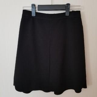 インディヴィ(INDIVI)の美品 INDIVI スカート 36(ひざ丈スカート)