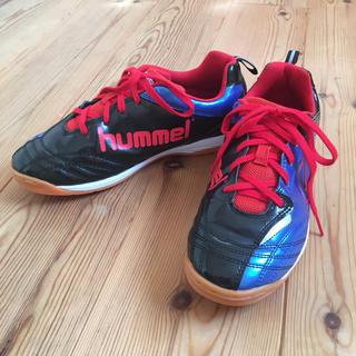 ヒュンメル(hummel)のフットサルシューズ  23.5センチ  hummel(シューズ)