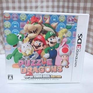 ニンテンドー3DS(ニンテンドー3DS)のパズル&ドラゴンズ スーパーマリオブラザーズ エディション(携帯用ゲームソフト)