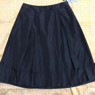 トゥービーシック(TO BE CHIC)のto be chic   黒 スカート(ひざ丈スカート)