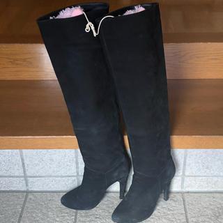 ルシェルブルー(LE CIEL BLEU)のルシェルブルー♡スエードロングブーツ(ブーツ)
