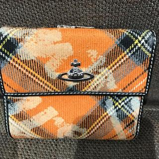 ヴィヴィアンウエストウッド(Vivienne Westwood)のビビアン折りたたみチェック財布(財布)