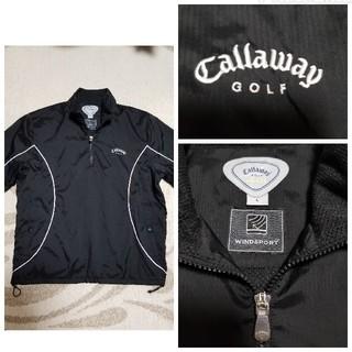 キャロウェイゴルフ(Callaway Golf)のメンズキャロウェイゴルフ半袖ブルゾン(ウエア)