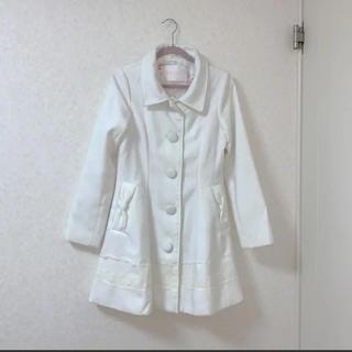 リズリサ(LIZ LISA)のLIZLISA白コート(ロングコート)