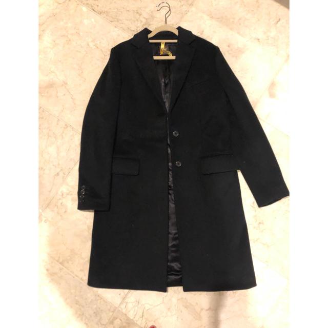 DEUXIEME CLASSE(ドゥーズィエムクラス)のドゥージーエムクラス チェスターコート レディースのジャケット/アウター(チェスターコート)の商品写真
