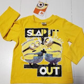 ミニオン(ミニオン)の新品タグ付きミニオンロングTシャツ長袖95センチロンTミニオンズ(Tシャツ/カットソー)
