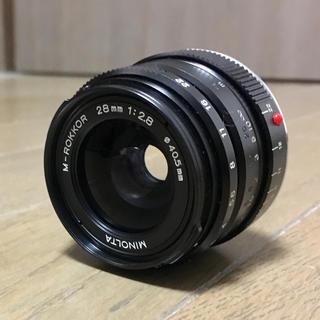 LEICA - ミノルタ M-ROKKOR 28mm 1:2.8 大変希少な光学系。