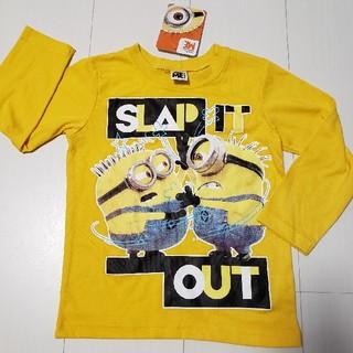 ミニオン(ミニオン)の新品タグ付きミニオンロングTシャツロンT黄色100センチ長袖ミニオンズ(Tシャツ/カットソー)