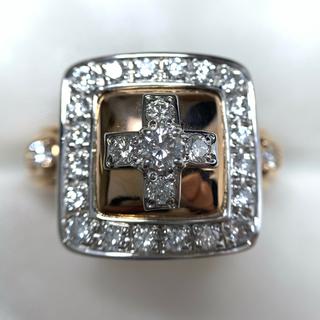 southern cross プラチナ ピンクゴールド ダイヤモンド 指輪(リング(指輪))