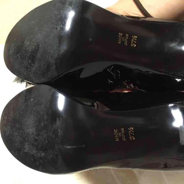 Pippi(ピッピ)のピッピ ブラック パンプス レディースの靴/シューズ(ハイヒール/パンプス)の商品写真