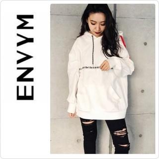ENVYM - 新品♡定価7590♡ENVYM ラインパーカー