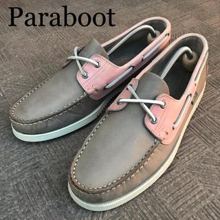 パラブーツ(Paraboot)の【Paraboot】パラブーツ BIRTH バース メンズ デッキシューズ 革靴(デッキシューズ)