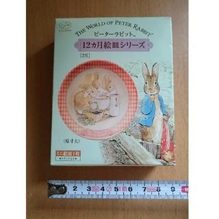 ピーターラビットミニ絵皿(2月)(キャラクターグッズ)