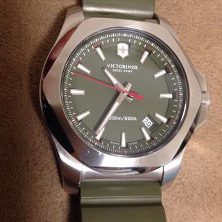 ビクトリノックス(VICTORINOX)のビクトリノックス イノックス グリーン限定(腕時計(アナログ))