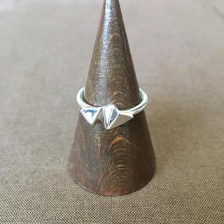 折り紙 デザイン シルバーリング 16号 エスニック アジアン アクセ(リング(指輪))