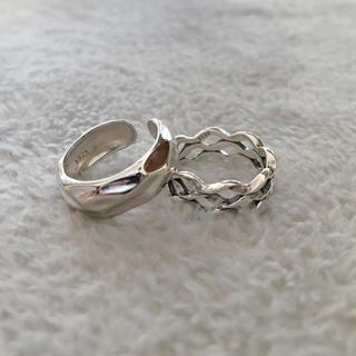 リング silver925 シルバー925 2点セット 刻印あり(リング(指輪))
