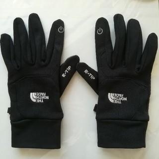 ザノースフェイス(THE NORTH FACE)のノースフェイス ETIP GLOVE  グローブ 手袋 黒 NN86116(手袋)