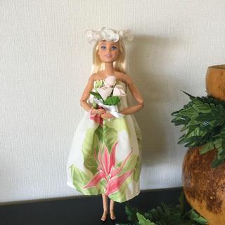 バービー(Barbie)のバービー人形 フラダンス衣装ウエディング【No.197】(人形)