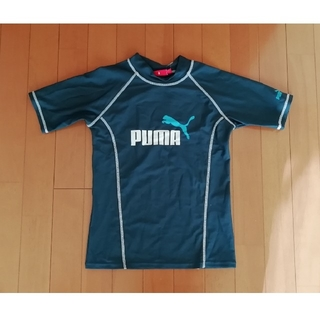 PUMA - PUMA ラッシュガード 160cm 濃い緑
