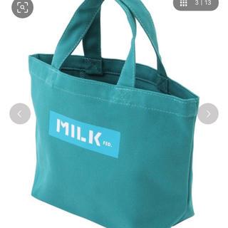 ミルクフェド(MILKFED.)のミルクフェド トートバッグ 新品(トートバッグ)