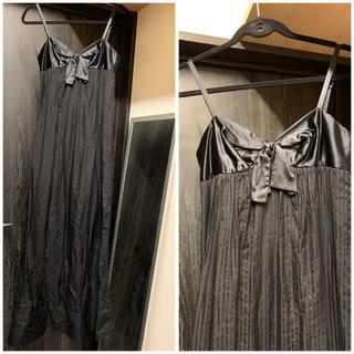 ビーシービージーマックスアズリア(BCBGMAXAZRIA)のBCBG MAXAZRIA シルク ワンピース ドレス(ロングワンピース/マキシワンピース)