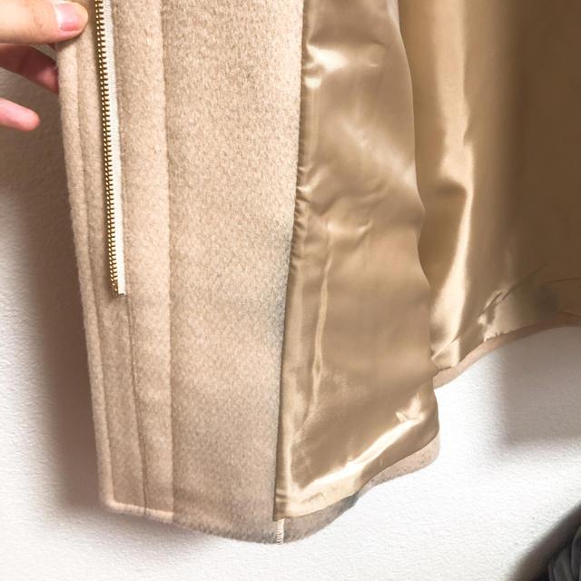 JILL by JILLSTUART(ジルバイジルスチュアート)の最終出品 JILL BY JILLSTUART コート ピンクベージュ レディースのジャケット/アウター(ダッフルコート)の商品写真