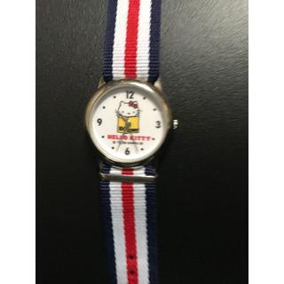 サンリオ(サンリオ)の希少!Hello Kitty/キティちゃん QUARTZ腕時計【UESD美品】(腕時計)