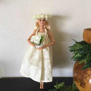 バービー(Barbie)のバービー人形 フラダンス衣装ウエディング【No.198】(人形)