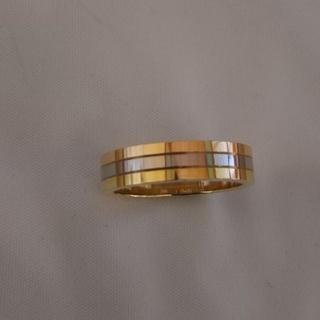 カルティエ(Cartier)のカルティエスリーカラーリング(リング(指輪))