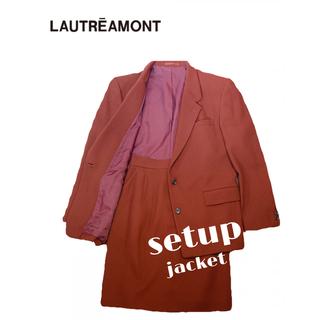 ロートレアモン(LAUTREAMONT)のLAUTREAMONT セットアップ スーツ ジャケット(セット/コーデ)