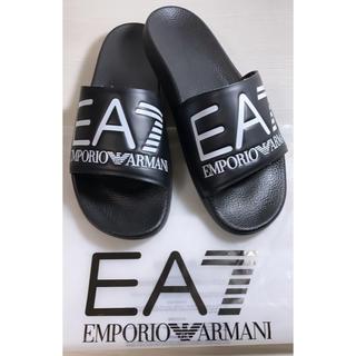 Emporio Armani - ★大人気! EMPORIO ARMANI シャワーサンダル ブラック 26センチ