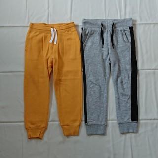エイチアンドエム(H&M)のH&M新品含む110㎝長ズボンスウェット二点セット男の子(パンツ/スパッツ)