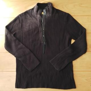 カルバンクライン(Calvin Klein)のメンズ セーター ブラック(ニット/セーター)