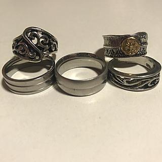 カジュアルリング 指輪 5個セット(リング(指輪))